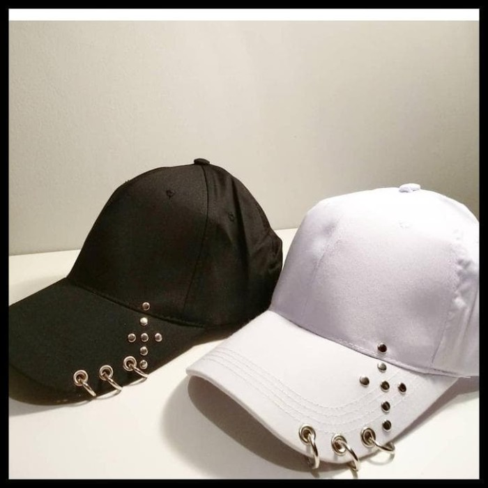 Jual HOT SALE Topi baseball RING fashion korea import kpop wanita ... e5729423b8