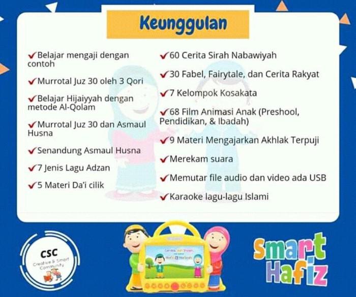 Jual Paling Laris Smart Hafiz Paket Mainan Edukasi Anak Heri