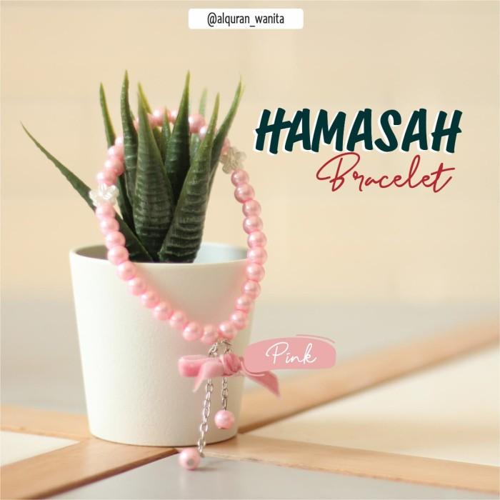 Jual Gelang Tasbih Pink Hamasah Cantik Terbaru Kab Kuningan Al Quran Madina Kuningan Tokopedia