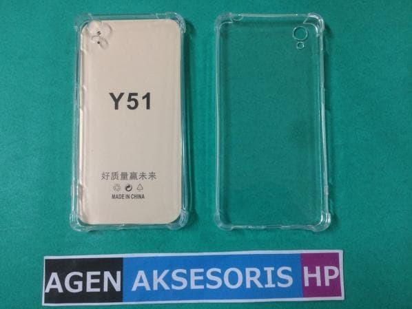 Case ANTI CRACK VIVO Y51 5.0 inch Softcase Ultra Slim Clear ANTI SHOCK