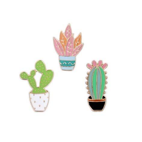 Jual Pin Bros Bentuk Tanaman Kaktus Kartun Jakarta Barat Mingzhu Shop Iv Tokopedia