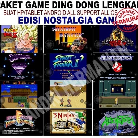 Jual Paket Game Retro Nintendo, Nds, Sega, Mame, Psp, Psx, Snes, Gameboy -  Kota Surabaya - gisela olshop | Tokopedia