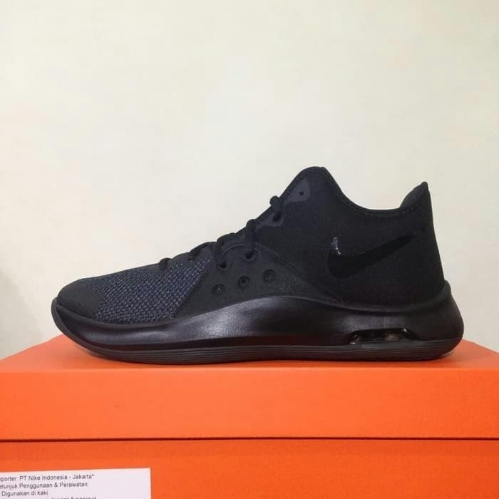 Info Harga Sepatu Basket Nike Air Versitile III Black Original Di ... 2ab5672611