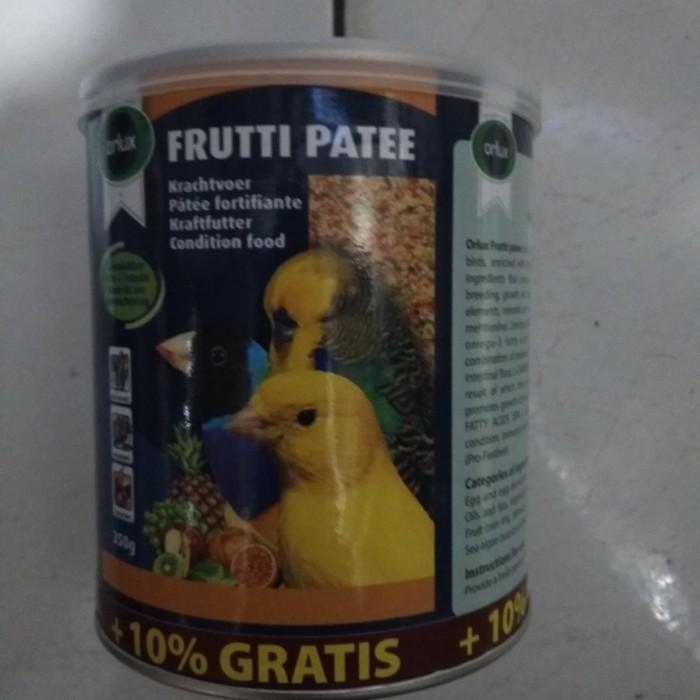 harga Makanan burung frutti patee 250 gr ori love bird kenari pleci belgium Tokopedia.com