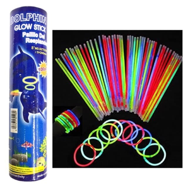 ... harga Stick light glow stick 100 pcs tongkat lampu party glowing stick light Tokopedia.com