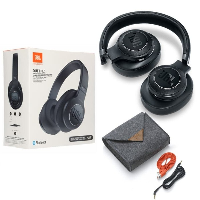 e34547d6a9d JBL Duet NC Wireless Over Ear Active Noise Cancelling Headphones