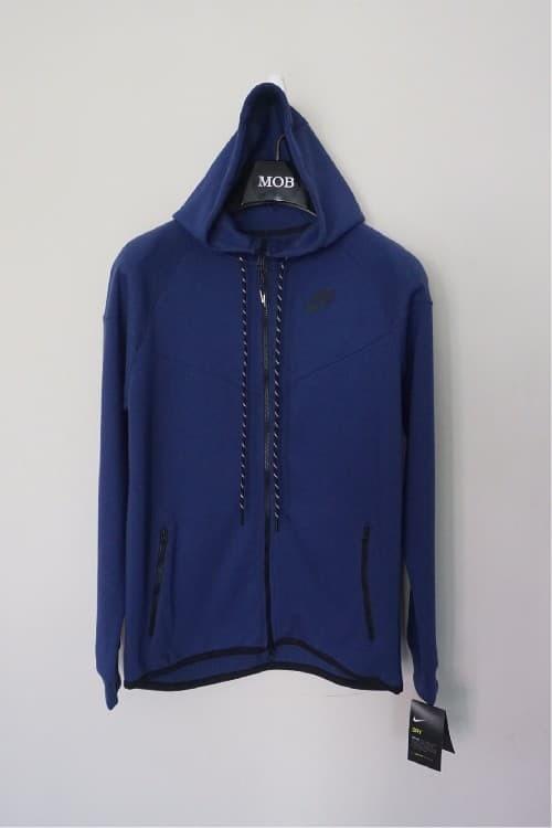 Jual Nike Tech Fleece Windrunner Full Zipper Hoodie Dark Blue Original Jakarta Selatan Lucifer Tokopedia