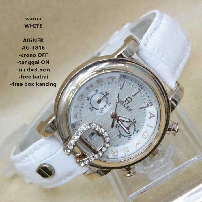 Jual PROMO TERMURAH jam tangan wanita AIGNER AG-1816 uk d 3 e33e2973d4