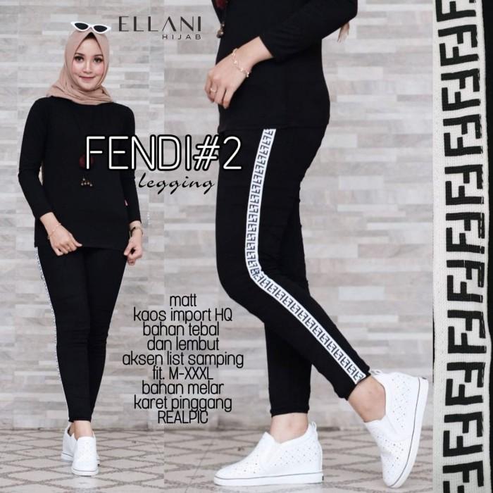 Jual Fendi 2 Legging Kekinian By Ellani Kota Yogyakarta Dapis Shop Tokopedia