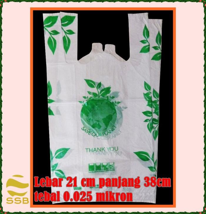 Foto Produk Plastik Kemasan Kresek Thank You -Degradable Bag - 21 cm dari Sarana Sukses Berkat