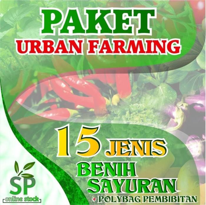 Foto Produk Paket Benih Sayuran Eceran 15 Jenis plus Polybag 750 lembar dari Sarana Sukses Berkat