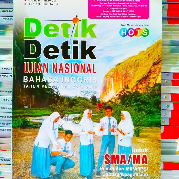 Jual Detik Detik Un Bahasa Inggris Sma 2019 Kunci Jawaban Intan Pariwara Kota Semarang Baredstore Tokopedia