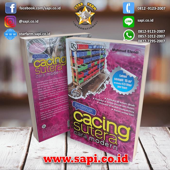 Jual Beternak Cacing Sutra Cara Modern Star Farm Kab Bogor Star Farm Tokopedia