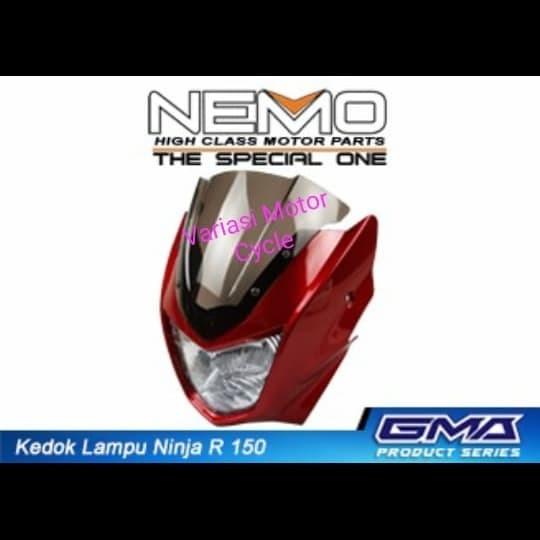 headlamp kawasaki KR Superkips / kedok lampu depan ninja 150 / reflekt