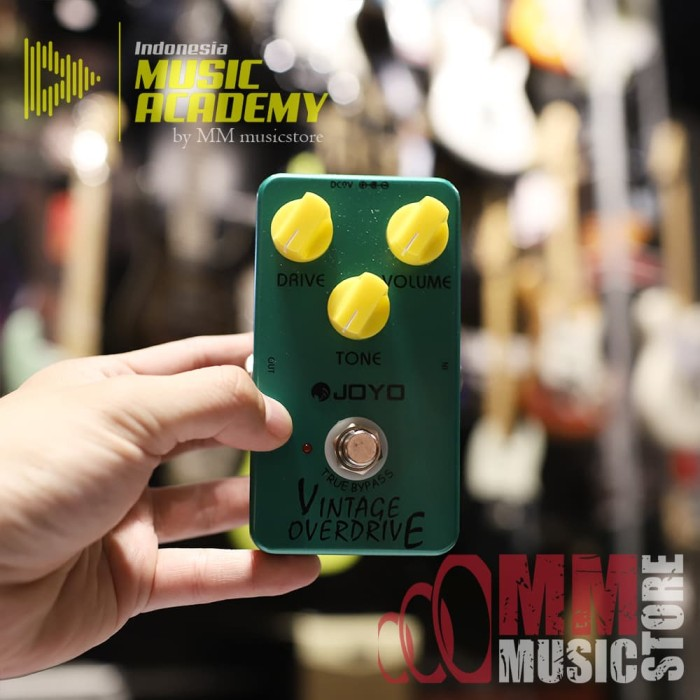 harga Efek gitar joyo vintage overdrive jf-01 efek pedal stompbox Tokopedia.com
