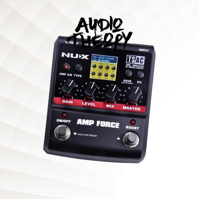 harga Stompbox nux amp force modeling amplifier - effect efek pedal gitar Tokopedia.com