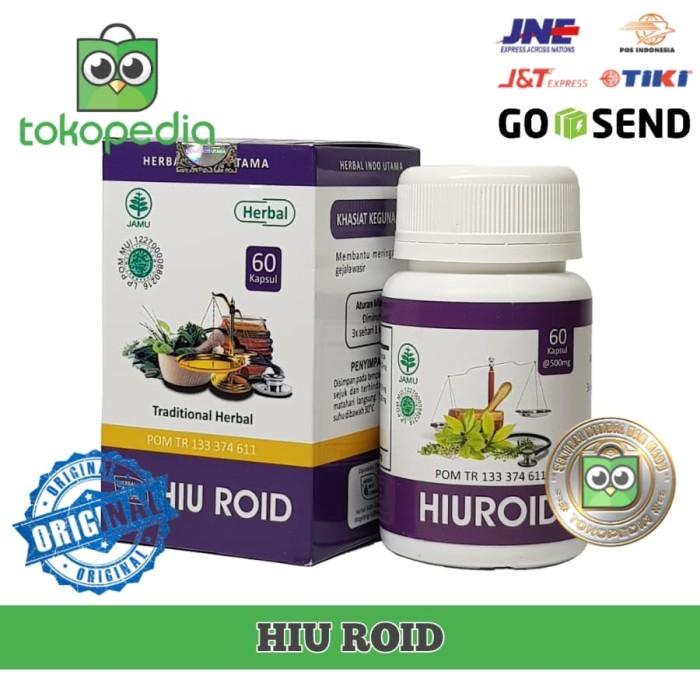 HIU ROID Obat Herbal Ambeien Wasir