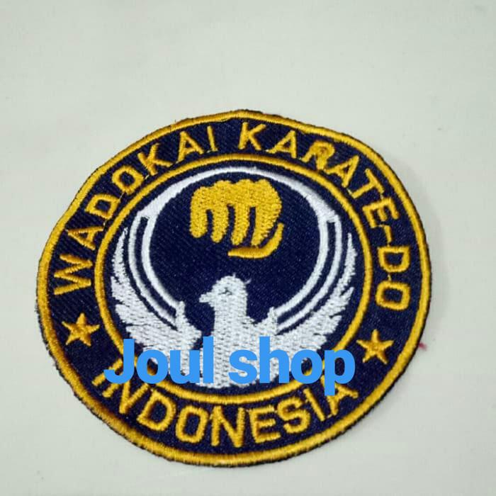 Jual Bordir Logo Karate Wadokai Mini