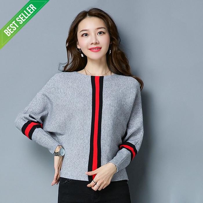 53 Model Baju Rajut Ala Korea HD Terbaik