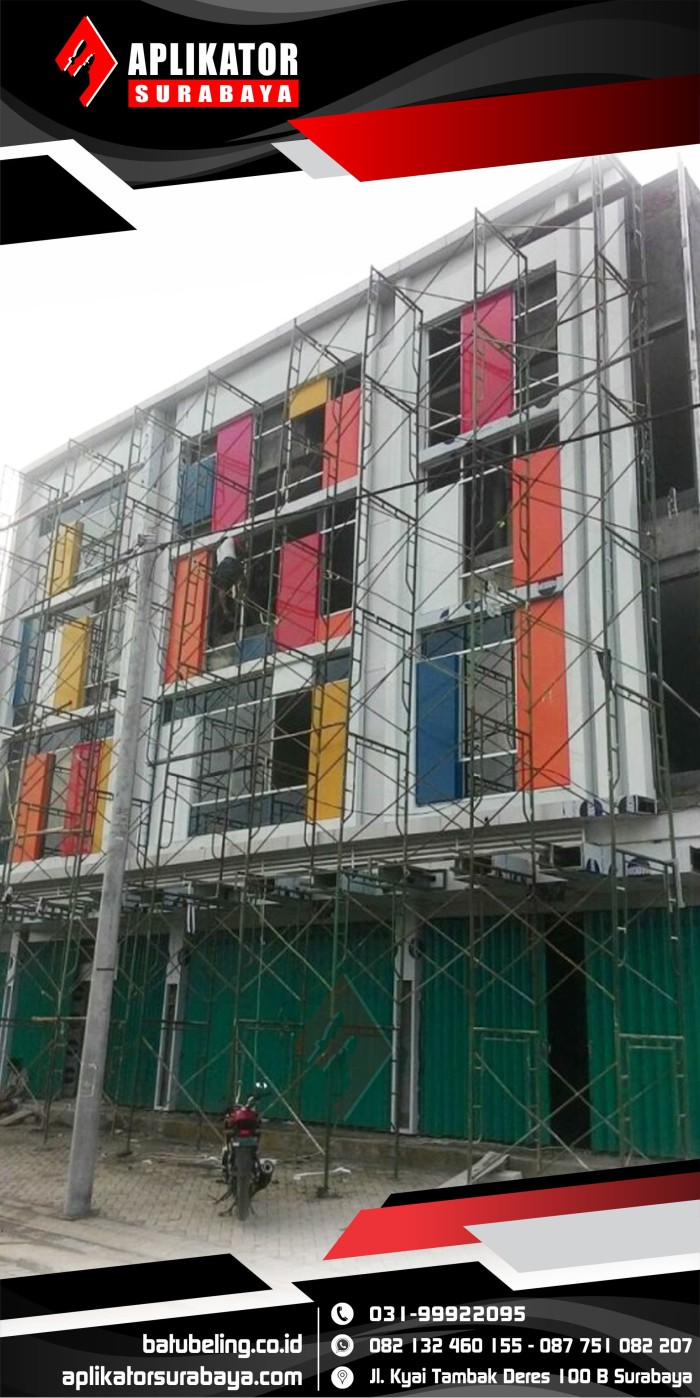 Jual Aluminium Composite Panel - ACP - Kota Surabaya - PON 10   Tokopedia