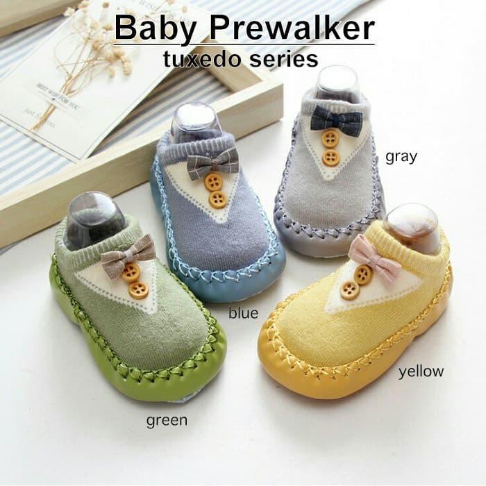 Foto Produk Baby Prewalker - Sepatu Kaos Kaki - Sepatu Bayi Anti Selip dari Lemari Anak
