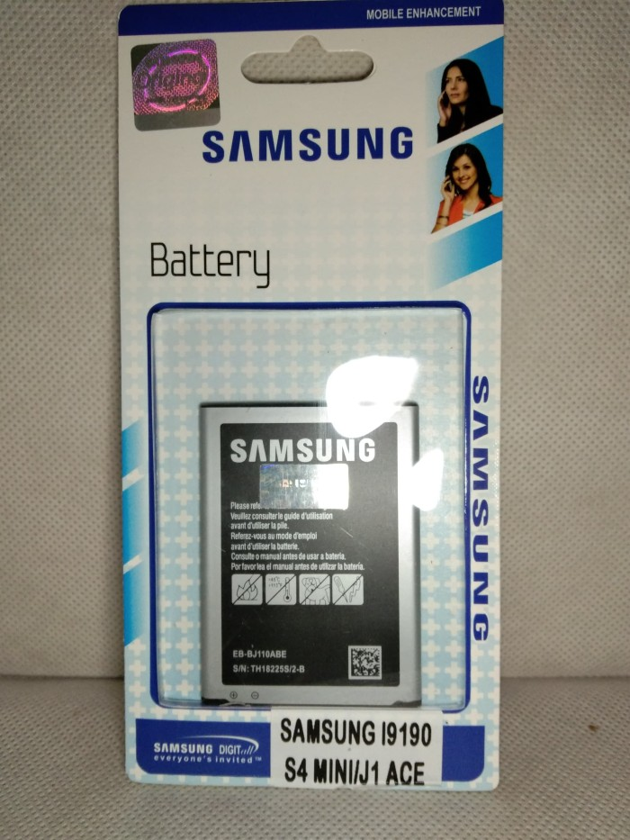 Original 99% Samsung J1 ACE - S4 MINI Baterai Batre Battery