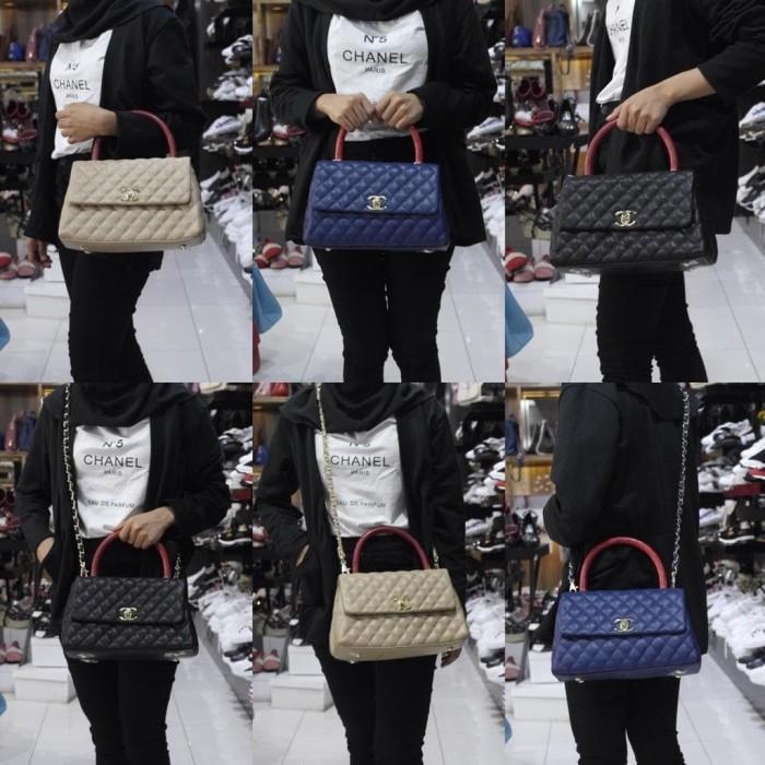Jual Tas Chanel Coco Elaphe Handle Small Seprem 2012 - Collection ... 662eb45792