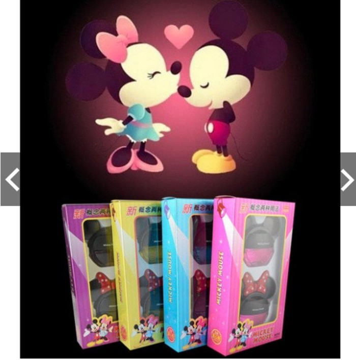 Paling Laku Disney Disneyland Mickey Minnie Mouse Couple Parfume