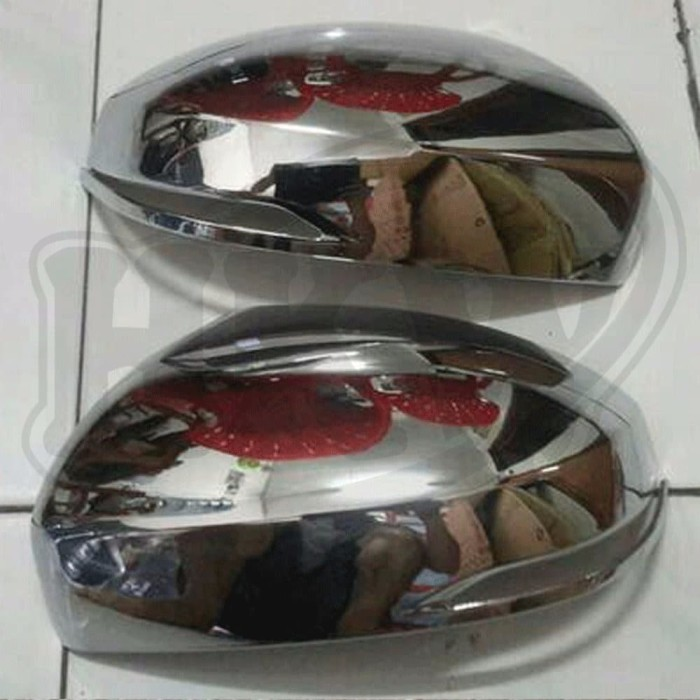 COVER SPION CHROME HONDA BRV car variasi aksesoris mobil
