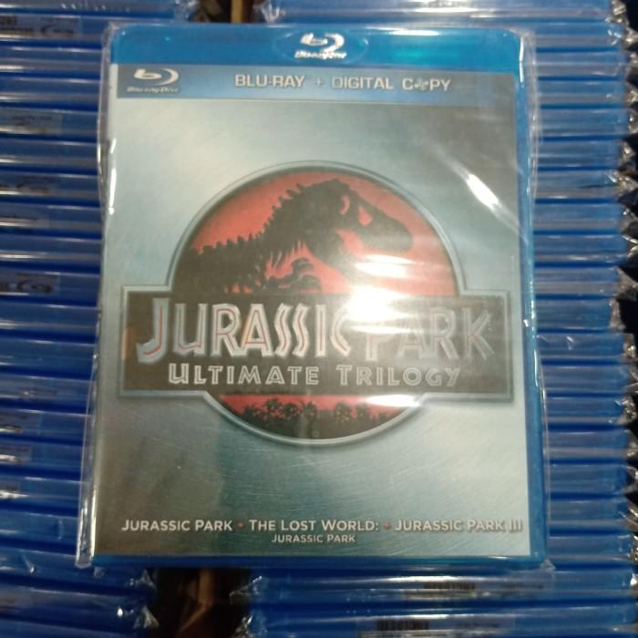 harga Bluray jurrasic park trilogy Tokopedia.com