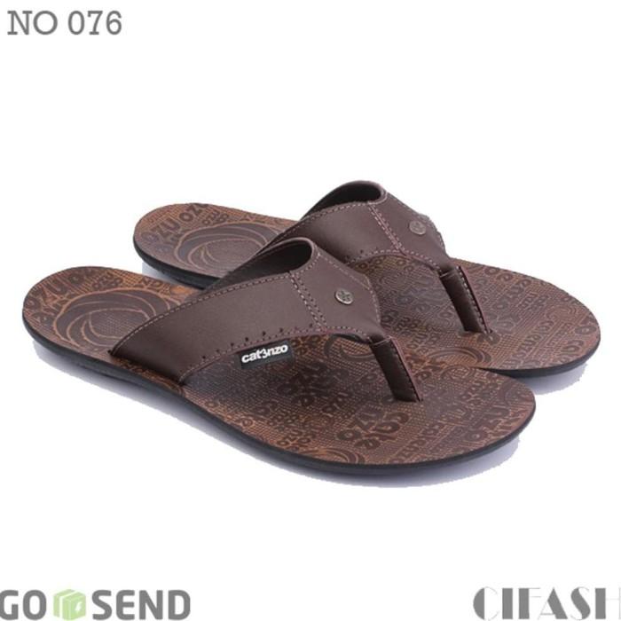 d569c83b330 Jual Terlaris Sandal Pria Kulit NO 076 (Sendal Bandung