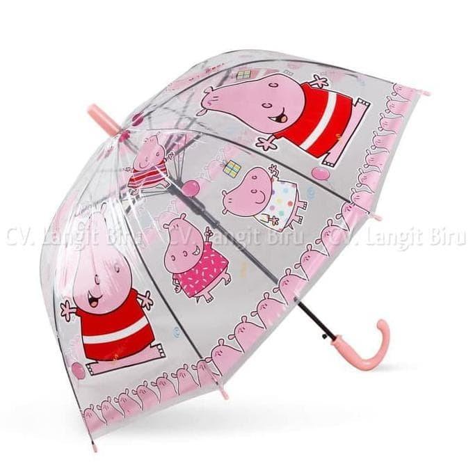 Dijual Payung Anak/ Payung Lipat/ Terbalik Payung Transparan Mangkok