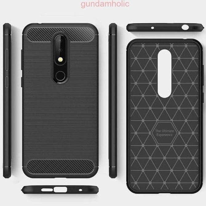 los angeles 66af8 30e28 Jual Bagus Bgt Nokia 6.1 Plus Nokia X6 2018 Case Spigen Like Rugged Armor -  DKI Jakarta - selly11   Tokopedia