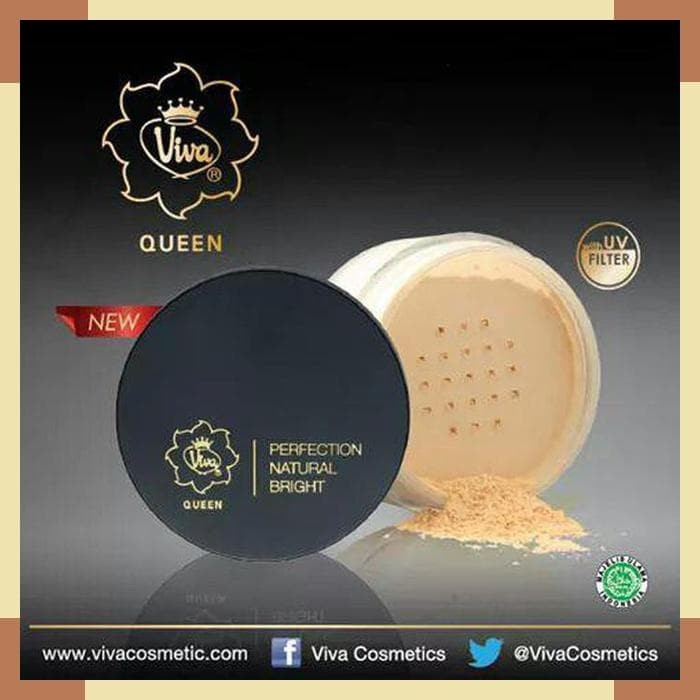 Viva Queen Perfection Natural Bright Loose Powder 35g