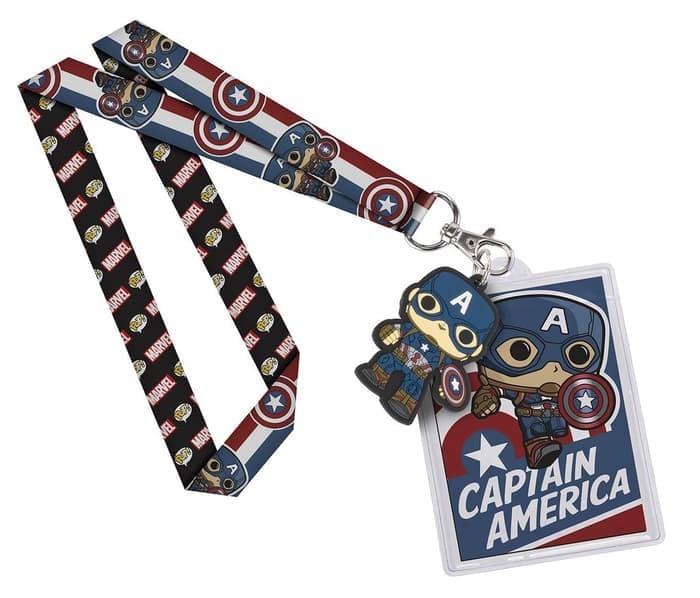 harga Funko POP! Lanyard Marvel - Captain America Tokopedia.com