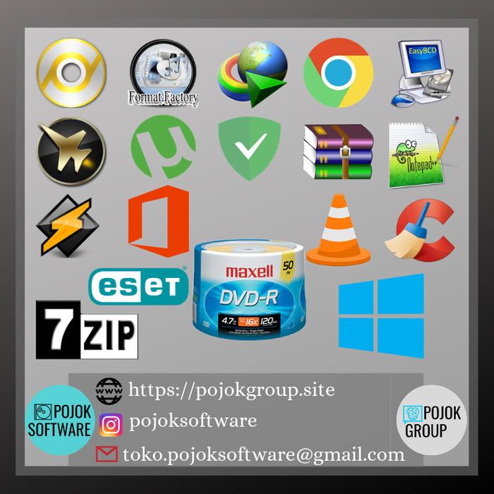 Jual Paket Install Ulang Windows 10 - Pojok Software | Tokopedia