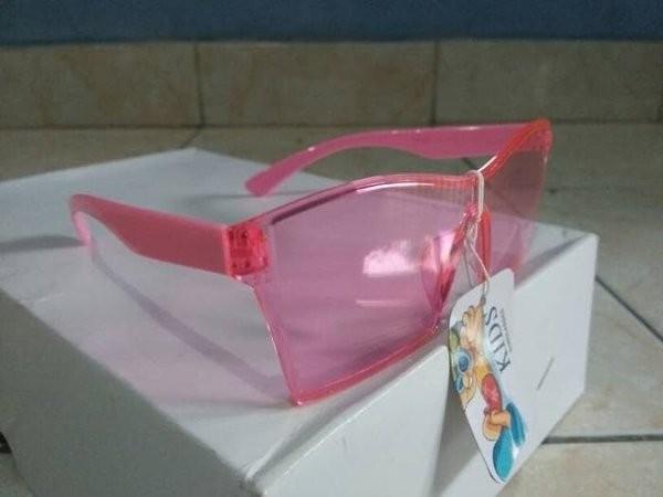 Jual kacamata anak anak kacamata fashion kaca bening pink trendy ... f360ac0ee8