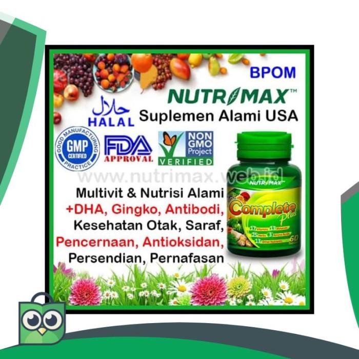 Info Nutrimax Complete Plus DaftarHarga.Pw