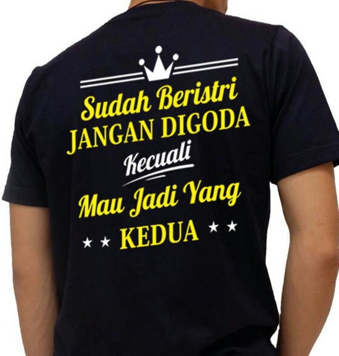 Kaos Custom Jangan D Da Kaos Lucu Kaos Tulisan Kaos Unik Limited