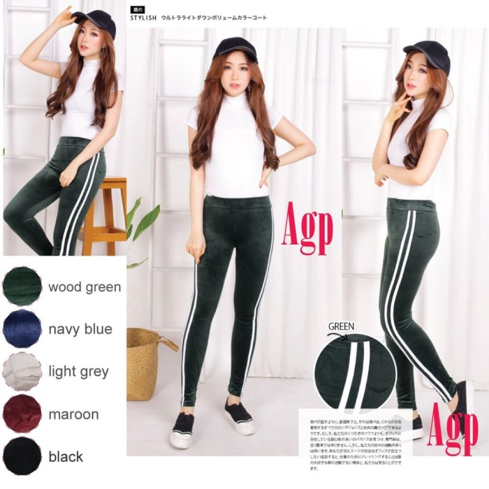 Jual Legging Bludru Hlx Lis Fit S To Jumbo All Size Legging Jumbo Wanita Jakarta Timur Lapak Omrooy Tokopedia