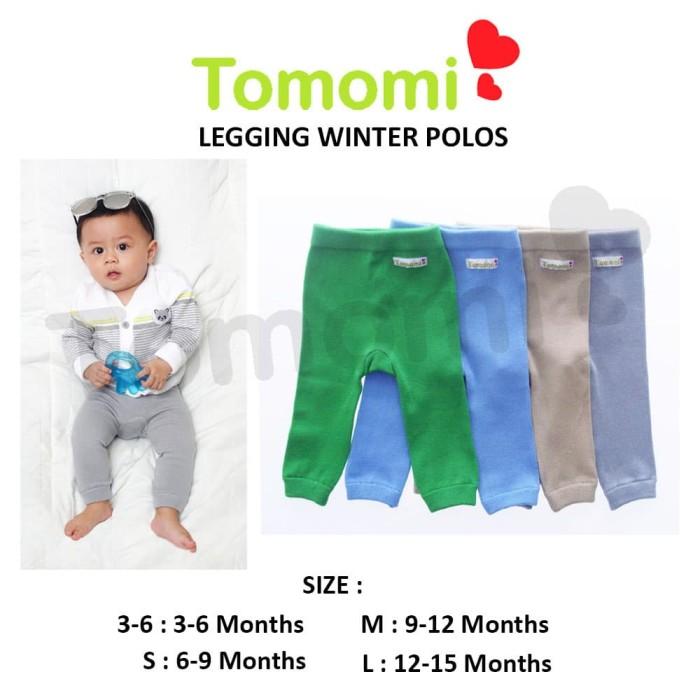 Foto Produk Tomomi Legging Polos Winter - 3-6 Bulan dari Tomomi Baby Wear