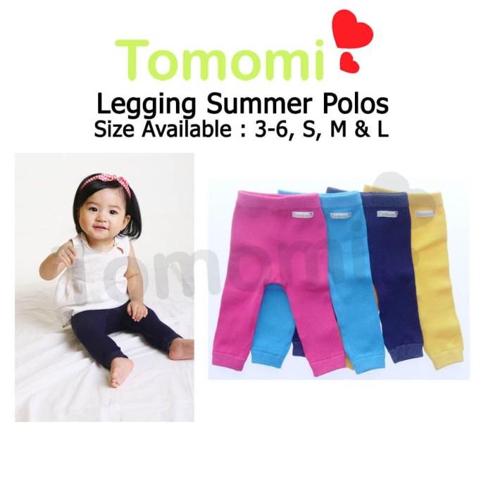 Foto Produk Tomomi Legging Polos Summer - 3-6 Bulan dari Tomomi Baby Wear