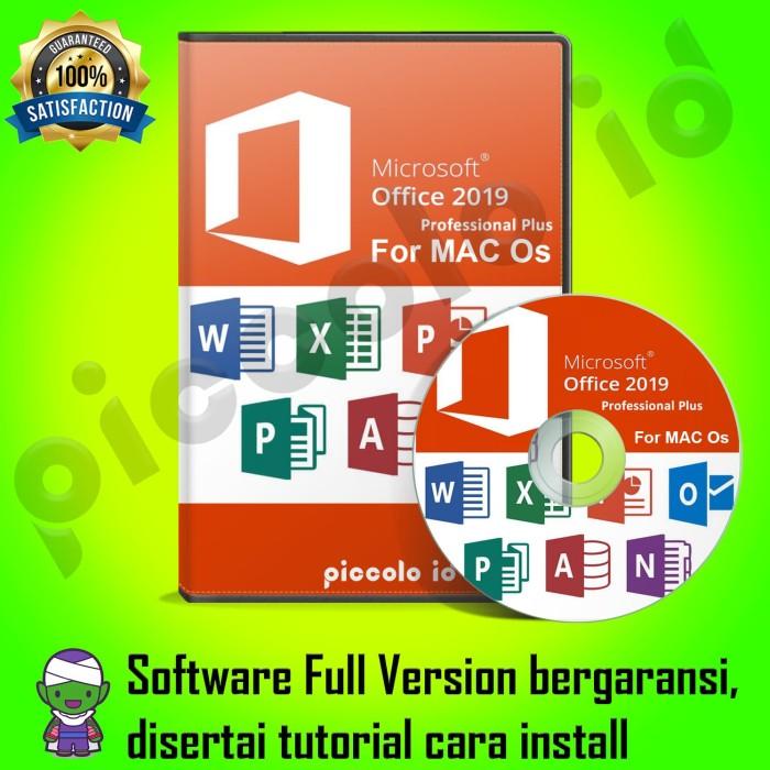 microsoft office 2019 professional plus mac os