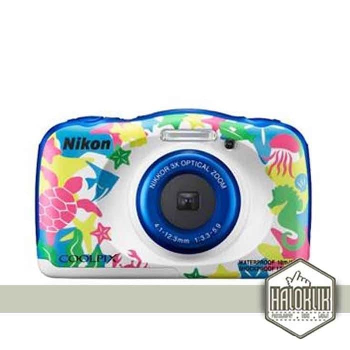 harga Nikon coolpix w100 digital camera - putih bercorak Tokopedia.com