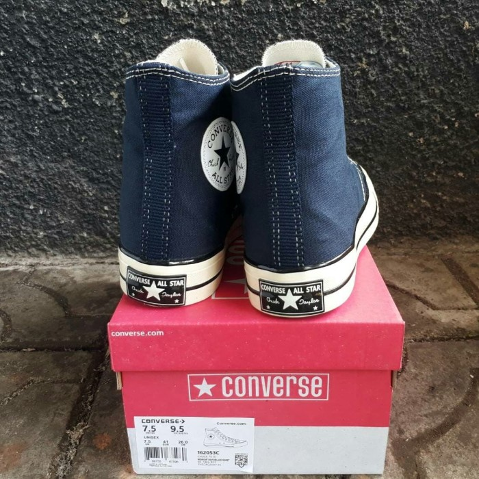 3d81cb273eb15f Sepatu Converse All Star 70s HI Egret Dress Blue Premium Original BNIB