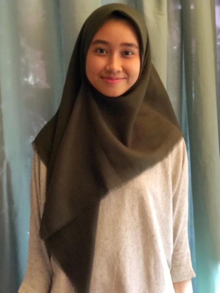 Hijab Hijau Army 3