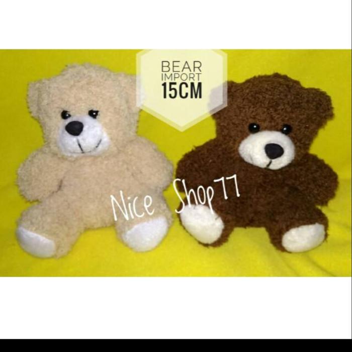 Foto Produk Boneka bear Import uk.15cm dari Nice Shop77