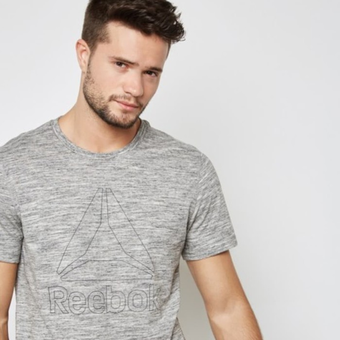 Harga Terbaru Reebok Running Tee Tshirt Baju Atasan Olahraga Pria ... 0a78415ada