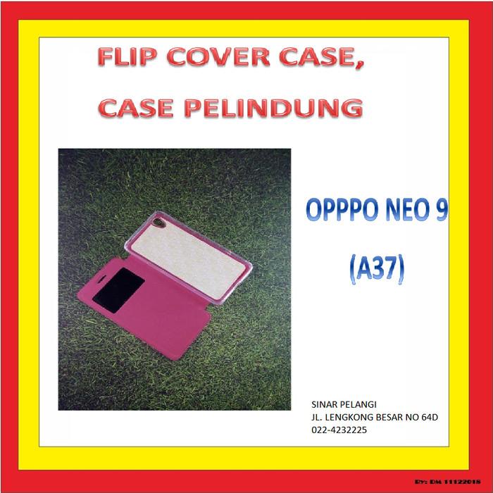 UME FLIP COVER SARUNG PELINDUNG CASE SILIKON OPPO NEO 9 A37 906690