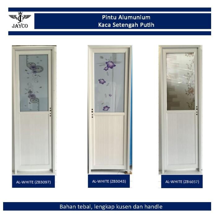 Jual Pintu Alumunium / Aluminium Jayco Kaca Cermin Putih ...